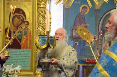 Божественная литургия в воскресенье перед Воздвижением