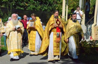 Чин освящения Богоявленского храма