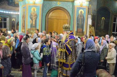 Всенощное бдение в канун Воздвижения Креста Господня
