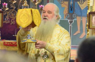 Божественная литургия в Казанском соборе (10 сентября 2017 года)