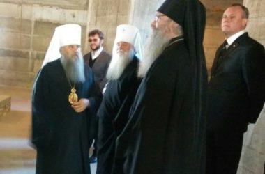 В Волгоградскую епархию с рабочим визитом прибыл митрополит Санкт-Петербургский и Ладожский Варсонофий