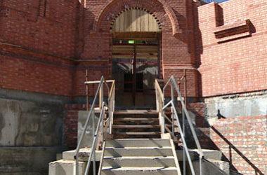 В строящемся Александро-Невском соборе митрополит Волгоградский и Камышинский Герман впервые совершит Божественную литургию