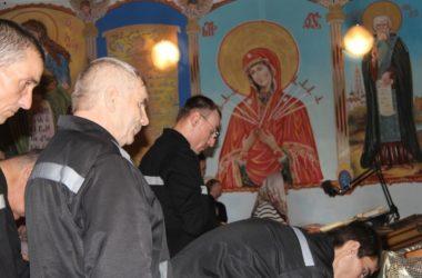 В храме при ЛИУ-15 прошло богослужение в день престольного праздника