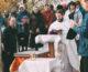 Состоялось освящение закладного камня кладбищенского храма в благочинии Тракторозаводского округа