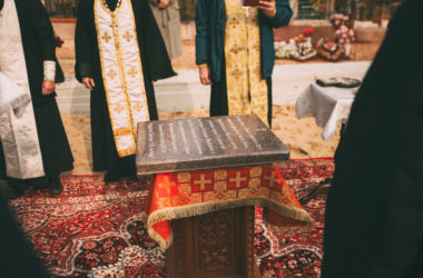 Освящение закладного камня кладбищенского храма в благочинии Тракторозаводского округа