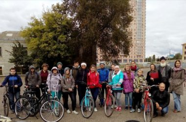 Молодежь прихода храма Иоанна Кронштадтского приняла участие в велопробеге
