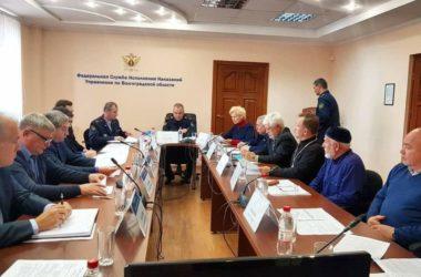 Священники приняли участие в заседании Общественного совета при УФСИН по Волгоградской области