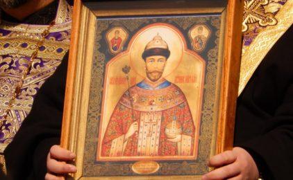 Мироточивый образ Николая II прибывает в Волгоградскую митрополию