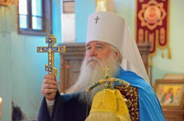 Богослужение в день юбилея митрополита Волгоградского и Камышинского Германа состоялось в Свято-Духовом монастыре