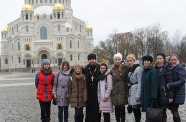 Победители детского конкурса «Моя любимая Родина» побывали в Санкт-Петербурге