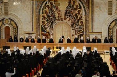 Итоги первого дня заседания Архиерейского Собора