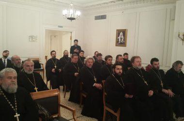 Казачий душепопечитель посетил курсы повышения квалификации Общецерковной аспирантуры и докторантуры