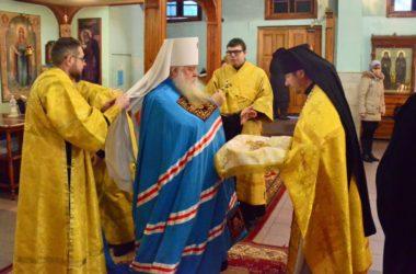 Божественная литургия в празднование апостолу Андрею Первозванному