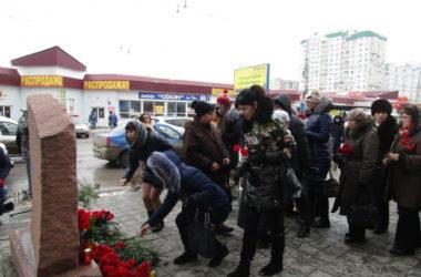 В Волгограде помолились о погибших при взрыве троллейбуса в декабре 2013 года
