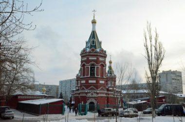 Божественная литургия в Казанском соборе (28 января 2018 года)