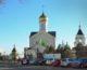 Божественная литургия в храме Сергия Радонежского