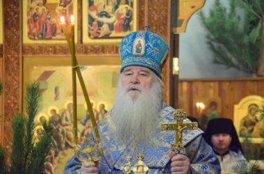 Божественная литургия в праздник Собора Пресвятой Богородицы