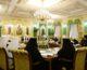 Первое в 2018 году заседание Священного Синода Русской Православной Церкви прошло в Даниловом монастыре в Москве