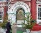 Божественная литургия в Казанском соборе в неделю четвертую Великого поста