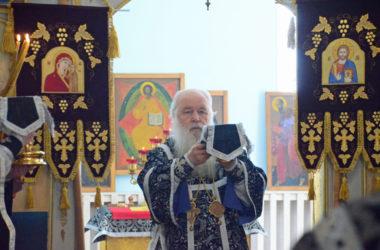 Литургия Преждеосвященных Даров в четверг Седмицы пятой Великого поста