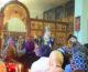 Божественная литургия в день памяти священномученика Николая Попова