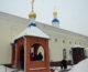Божественная литургия в Субботу Акафиста в храме Похвалы Пресвятой Богородицы
