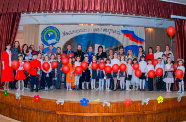 Пасхальный хоровой собор для самых маленьких