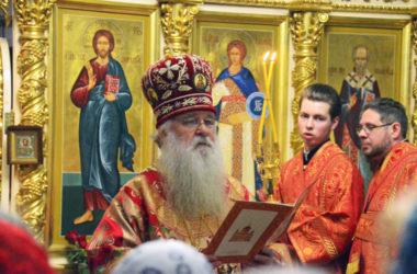 Божественная литургия в праздник Светлого Христова Воскресения