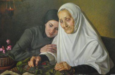 Портрет монахини Адрианы (Малышевой) войдет в экспозицию юбилейной выставки художника Александра Шилова в Волгограде