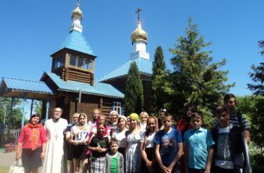 Ученики Терновской школы побывали на экскурсии в храме