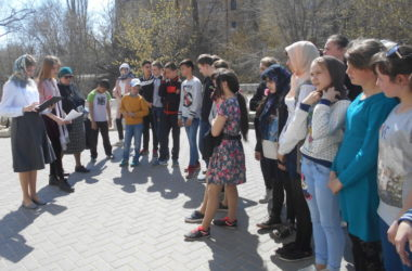Проект «Юный экскурсовод» в Краснооктябрьском районе
