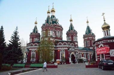 Всенощное бдение в Казанском соборе (28 апреля 2018 года)