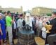 В Волгограде освятили колокола Александро-Невского собора