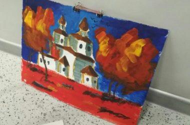 В ходе «Ночи музеев» волгоградские школьники нарисовали храм Иоанна Предтечи