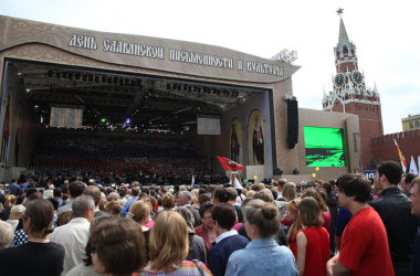 Святейший Патриарх Кирилл откроет на Красной площади всероссийский праздничный концерт в День славянской письменности и культуры