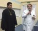 Священнослужитель навестил пациентов перинатального центра и подростков в детской комнате милиции