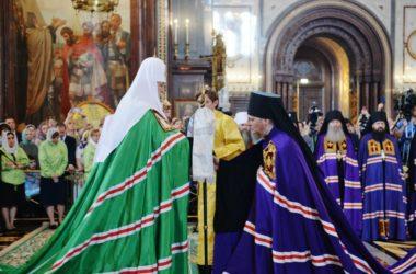 Святейший Патриарх Московский и всея Руси Кирилл возглавил хиротонию архимандрита Феоктиста (Игумнова) во епископа Городищенского