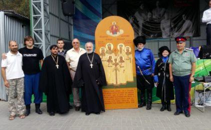 Акция, посвященная памяти святых Царственных страстотерпцев, прошла в Волгограде