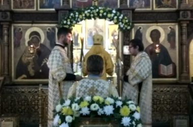 Божественная литургия в праздник святых апостолов Петра и Павла