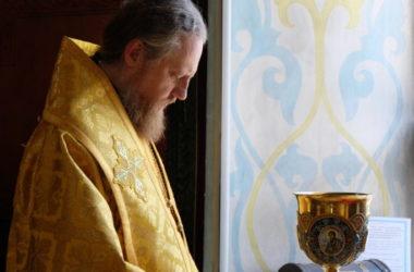 Божественная литургия в Неделю пятую по Пятидесятнице