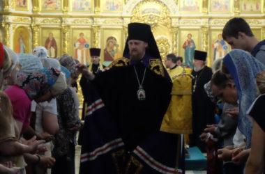 Всенощное бдение в Казанском соборе (7 июля 2018 года)