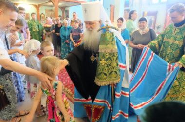 Богослужение в день тезоименитства митрополита Волгоградского и Камышинского Германа