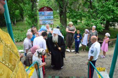 Божественная литургия в день престольного праздника Свято-Ольгинского храма