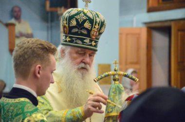 Всенощное бдение в канун празднования памяти святого преподобного Сергия Радонежского