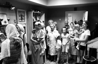 13 июля Литургия в «Детской клинической больнице №8»