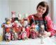 В Саратове открылась выставка руководительницы Семейного центра ремесел при камышинском Никольском соборе