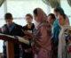 Божественная литургия в епархиальной школе молодежного актива
