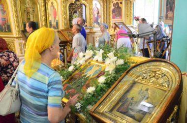 Божественная литургия в отдание праздника Преображения Господня