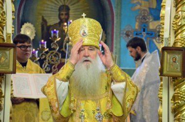 Божественная литургия в Казанском соборе (12 августа 2018 года)
