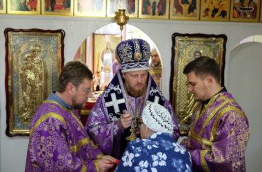 Божественная литургия в праздник Воздвижения Честного и Животворящего Креста Господня